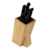 Blocchi e Borse Rotolo coltello di legno holder block coltello universale holder archiviazione