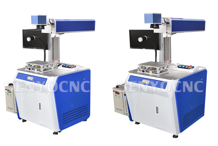 SENYOCNC Customized galvo meter co2 laser marking laser machine for wood,plastic,glass,leather