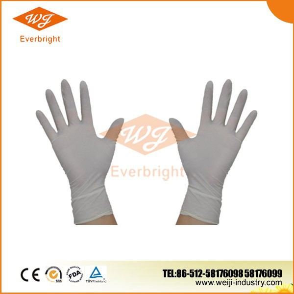 Disposable sterile cheap surgical medical latex gloves latex malaysia manufacturer