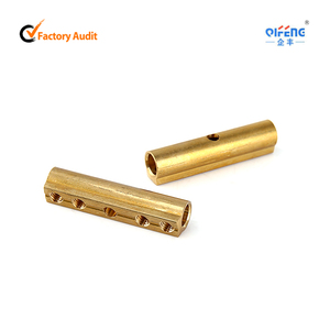 Auto Brass Battery Terminal RoHS Brass Cable Connector Wire Connector