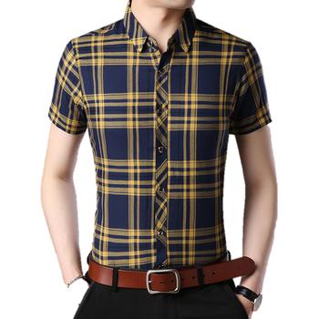 Royal Slim Fit Homens Vestido De Camisa Xadrez Amarela - Buy Vestido ... 8fe4d6ce6f4
