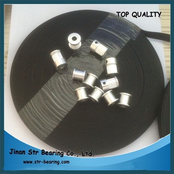 Width 6mm 3d printer parts rubber T2.5 timing belt with 16 teeth