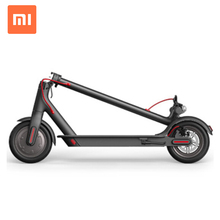 China foldable xiaomi mijia M365 EU English version electric scooter with 2 spare tires