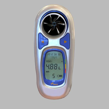 cheap Medical peak flow meter/spirometer MSA100