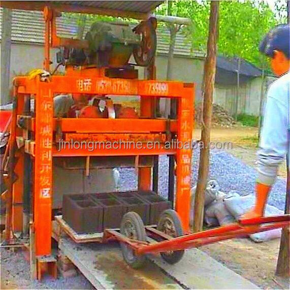 Concrete Block Maker Qt4 40 Manual Hollow Brick Machine