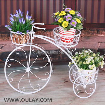 Metall Fahrrad Blumentöpfe Für Dekorative Garten - Buy Garten Dekorative  Fahrrad,Bicycke Blumentöpfe,Fahrrad Dekoration Product on Alibaba.com