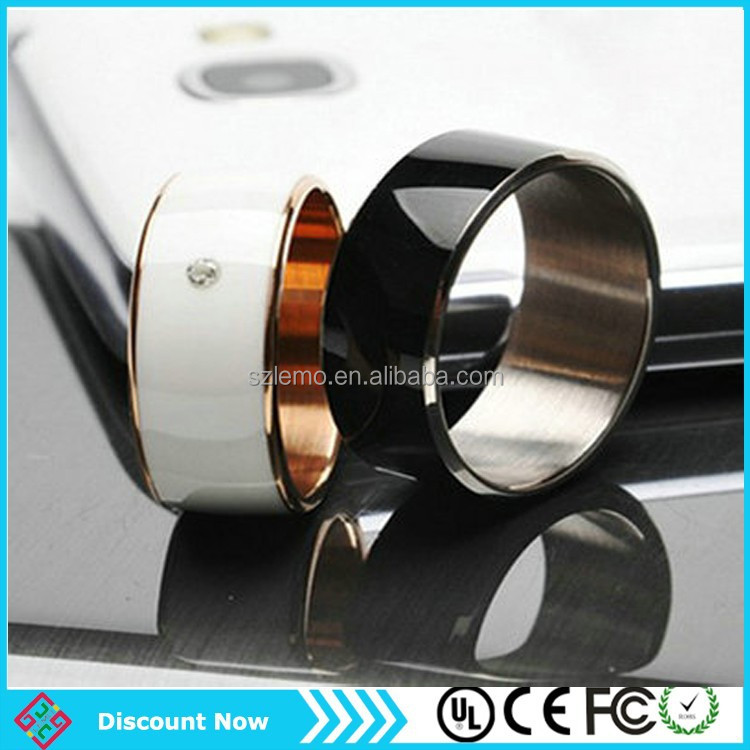 Intelligent Magic Ring NFC Ring Mobile Phone NFC Tag Stickers for NFC Feature Android Phone Smart Ring