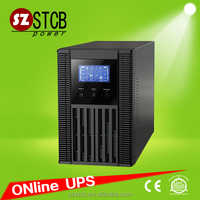 High Frequency 1kva Online ups external battery type 110v/220v ac