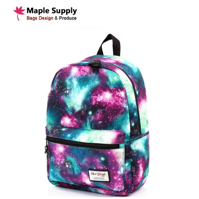 Whole Trendy Print Galaxy Bookbag Backpack For School Product On Alibaba