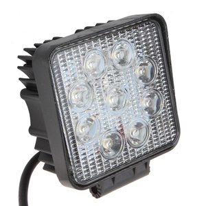 27W 12V 24V DC LED TRACTOR WORKING LIGHT with CE RoHS IP67