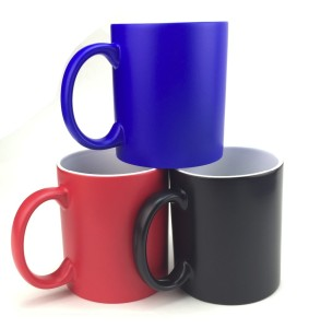 Custom 11oz Heat Sensitive Hot Water Sublimation Color Changing Mug