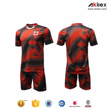 a09dd255c13 Custom Professional Soccer Jersey Short Sleeve Football Shirt - Buy ...