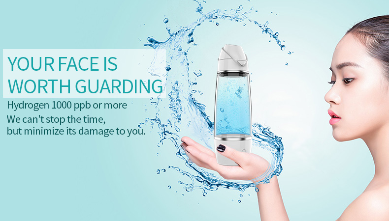 water treatment SPE/PEM hydrogen generator plastic drinking water bottle