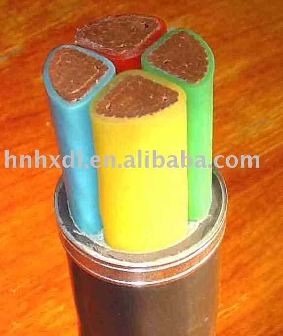 Electric Cable with XLPE/PVC Insulated
