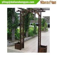 Simple Garden Cedar Arbor Designs, Arbor Pergola