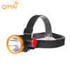 Most powerful 2 modes DC direct charge ABS head lamp flashlight led light mining camping headlamp