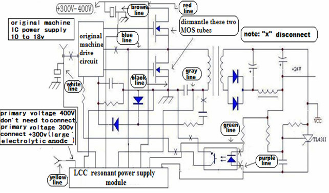 Adjustable 0 100v 50   Smps Circuit moreover Smps Schematic Diagram besides Guitar Pedals additionally Astec Power Supply Schematics moreover Power Line  munication Module 60304570503. on atx high power an led circuit design