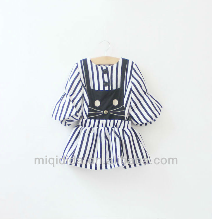 Autumn Spring Girls Dress OEM Lovely Beautiful Model Strap Girl Fashion Dresses