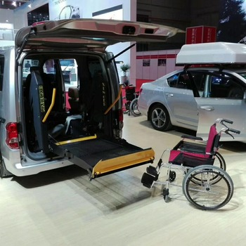 ce hydraulic wheelchair lift for van loading 350kg electric lift
