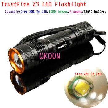 China Supplier Trustfire Z3 1000lm 5 Modes Cree Xml T6 Zoomer Led ...