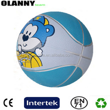 new mold normal size and weight 380-480g blue white basketball