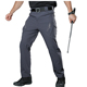 Mans clothes rip stop tactical pants,Casual waterproof cargo trouser man.