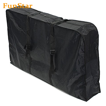 Folding Bike Bag 26-inch Cycling Bicycle Transport Travel Carry Bag Carrier Storage Pouch Case Loading Oxford Thick Pack