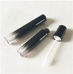 Metálico de Prata de Ouro Rosa de Plástico Estoque Rodada Vazio Garrafa Lip Gloss Tubo Recipiente Delineador Rímel