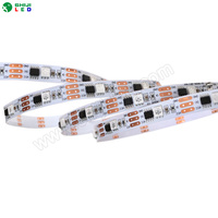 Programmable outdoor 12V ws2811 digital RGB pixel flexible led rope lighting for lighting decoration project