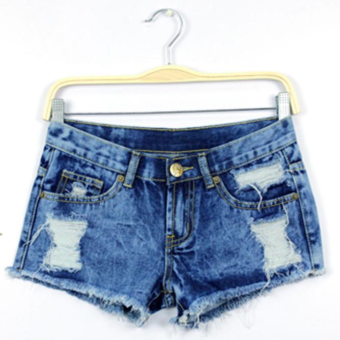 Весна шорты женщины деним женское шорты сплошной синий короткая джинсы разрез стиль женщины a шорты лето