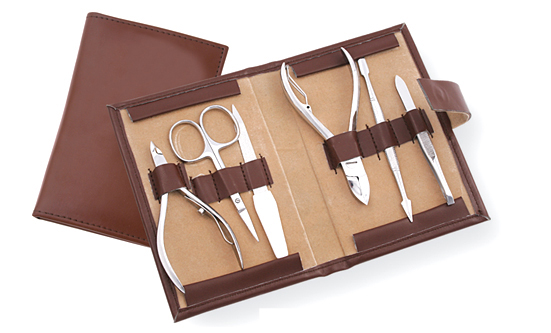Manicure Kit Set Of 6, Surgical Instruments with Gold