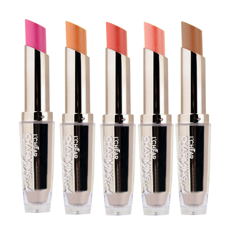 LCHEAR 2016 Romantic Beauty Cosmetic Matte Lipstick Makeup Long Lasting Wholesale Brand