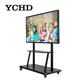 High Resolution Wall Mount 50'' inch LED Monitor Touch Screen PC smart board