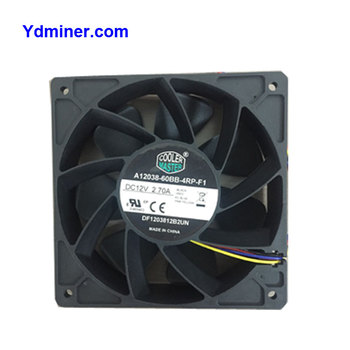 Bitcoin Miner Cooling Fan 12x12 for Asic miener S9/M3/F1/T1, View Cooling  fan, Product Details from Shenzhen Jingang Zhuoyue Technology Limited on