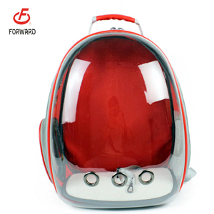 High quality PVC foldable cat dog pet bag carrier / pet bag luggage carry bag