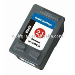 Ink cartridge for HP21 C9351A black
