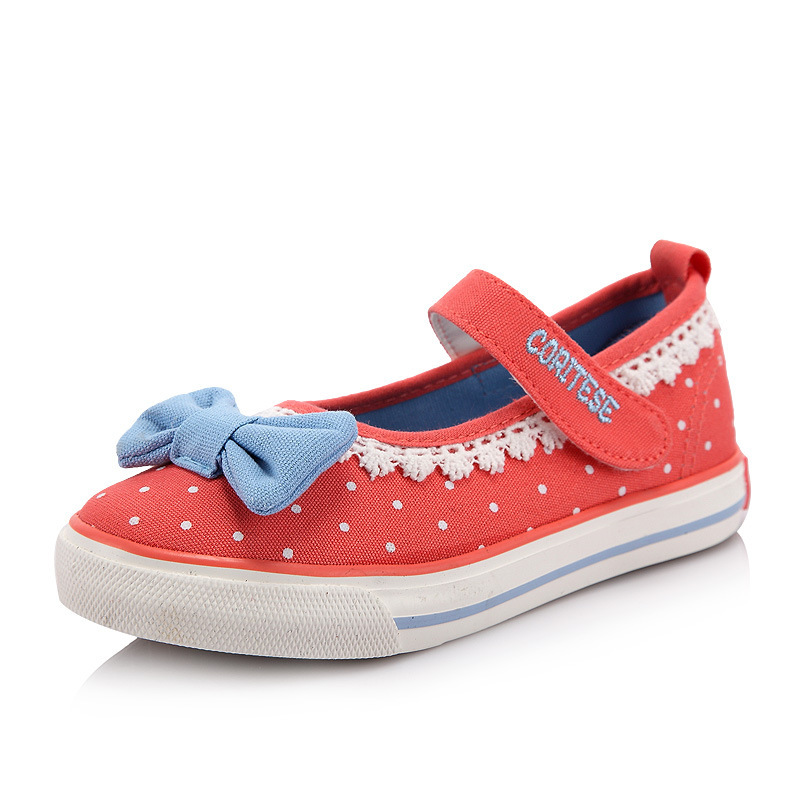 4f71bf692519 Velcro Canvas Sneakers Girls Fashion Sport Pink Velcro Sneaker Concise  Casual Shoes Girls bowknot Velcro Canvas Sneakers Girls
