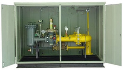 Gas pressure regulator used for natural gas generator set