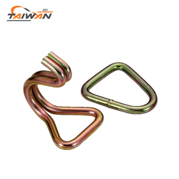 top manufacture factory wholesale flat metal hook