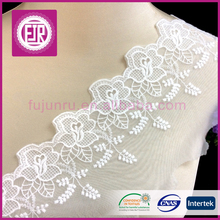 9 cm <span class=keywords><strong>organza</strong></span> flower bordir lace potong grosir
