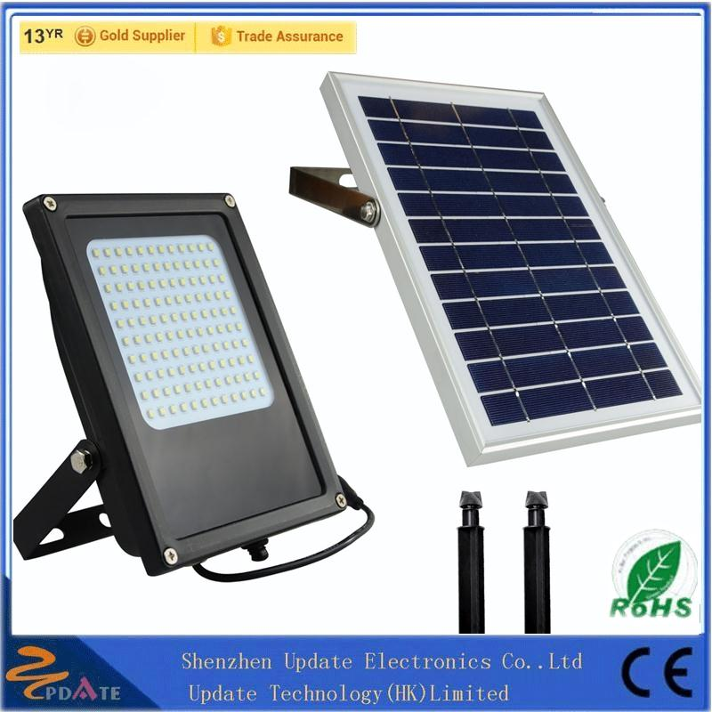 Factory Wholesale Commercial Solar Powered Flood Lights