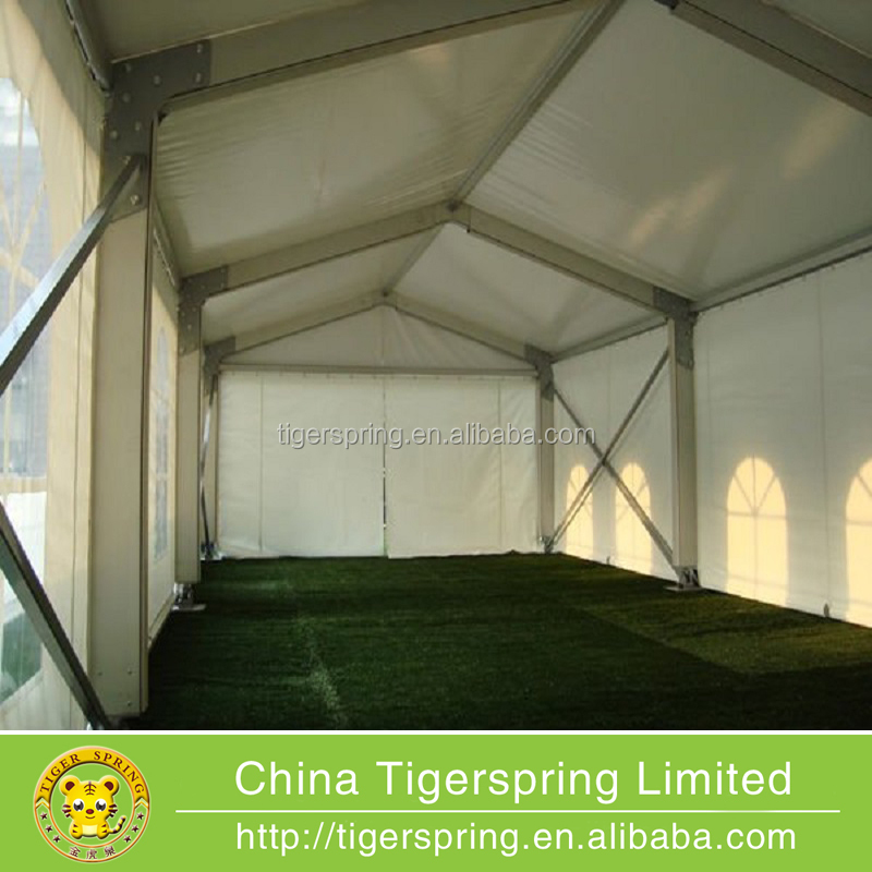 PVC-coated Polyester textile used clear span tent
