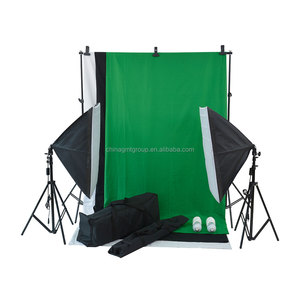 Good Reputation High Quality Head Softbox Photo Studio Light Kit Constant Studio Lighting Kit