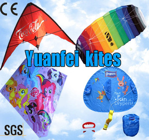 customized designs promotional advertising cheap kite from Chinese kite factory