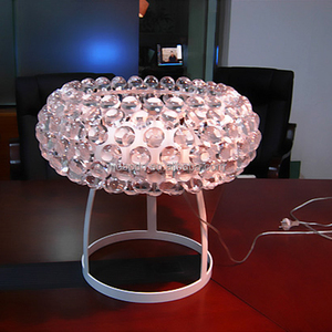 Modern Clear Antique Pearls Foscarini Caboche Table Lamp For Bedroom