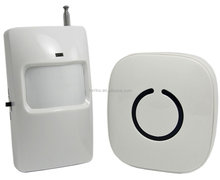 FORRINX Motion Sensor Alarm and Chime Door Bell Security System Motion Detector