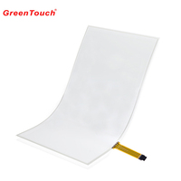 low price and high quality 18.5 inch resistive flexible touch film to film