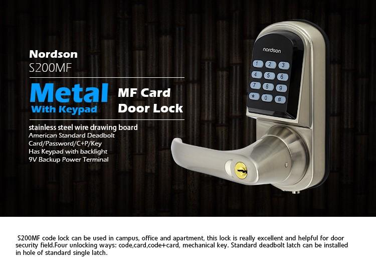 Mini Electromagnetic Keypad Mobile Key Office Digital Door