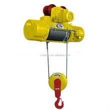 500kg 1000kg mini electric wire rope hoist with trolley