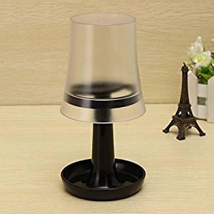 ChenXi Store Creative Table Lamp Shape Toothbrush Holder Wash Gargle Suit Black